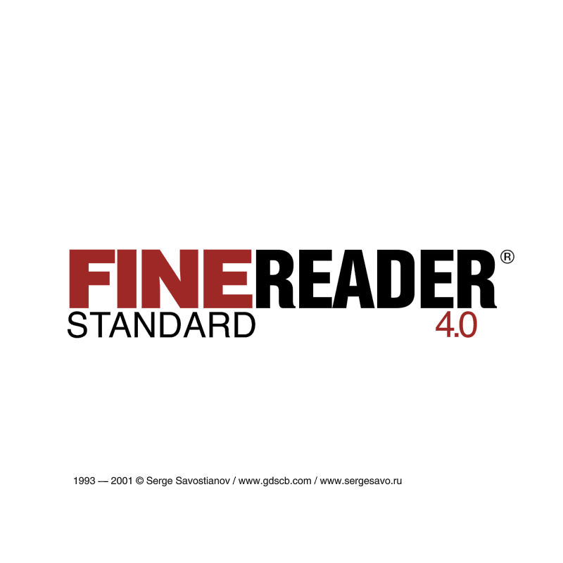FineReader 4 vector