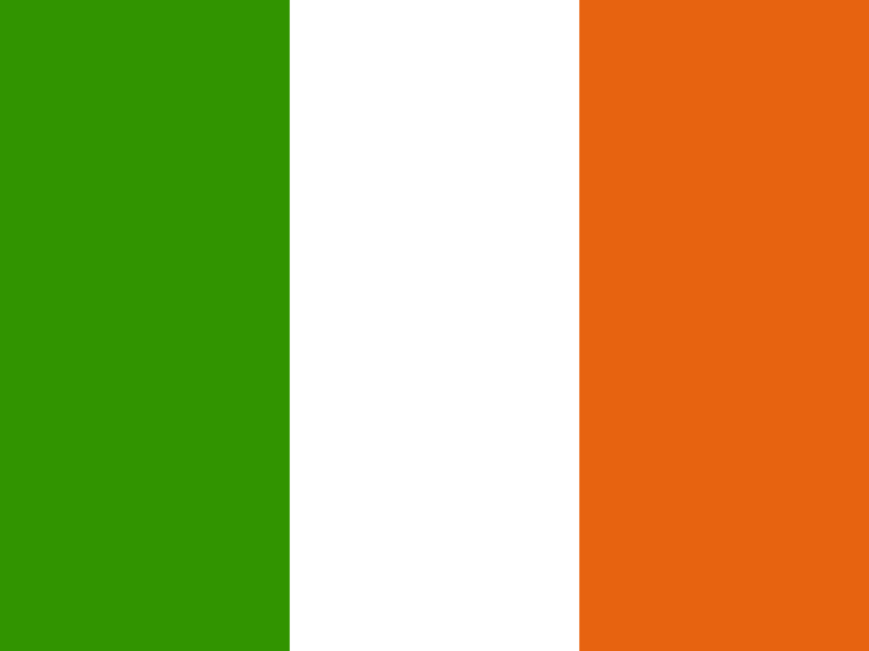 Flag of Ireland vector logo