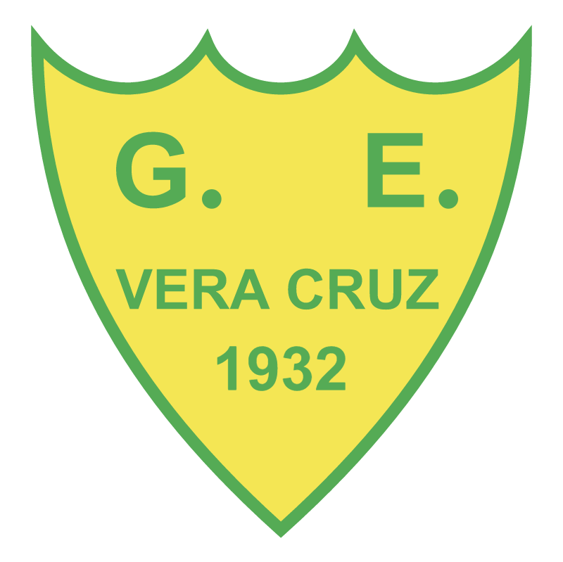 Gremio Esportivo Vera Cruz de Sapucaia do Sul RS vector