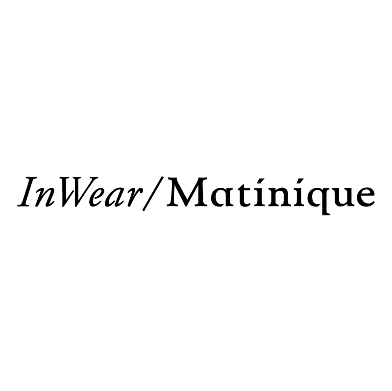 InWear Martinique vector