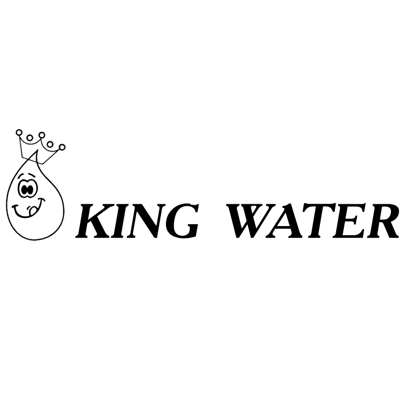 King Water vector logo