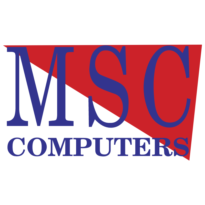 MSC Computers vector logo
