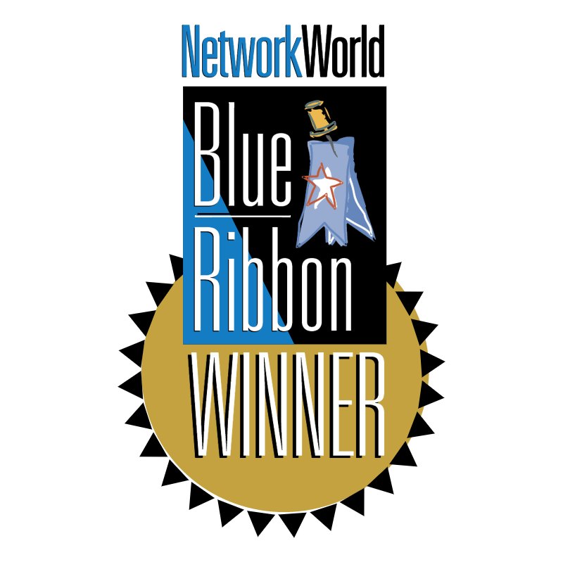 NetworkWorld Blue Ribbon Winner vector