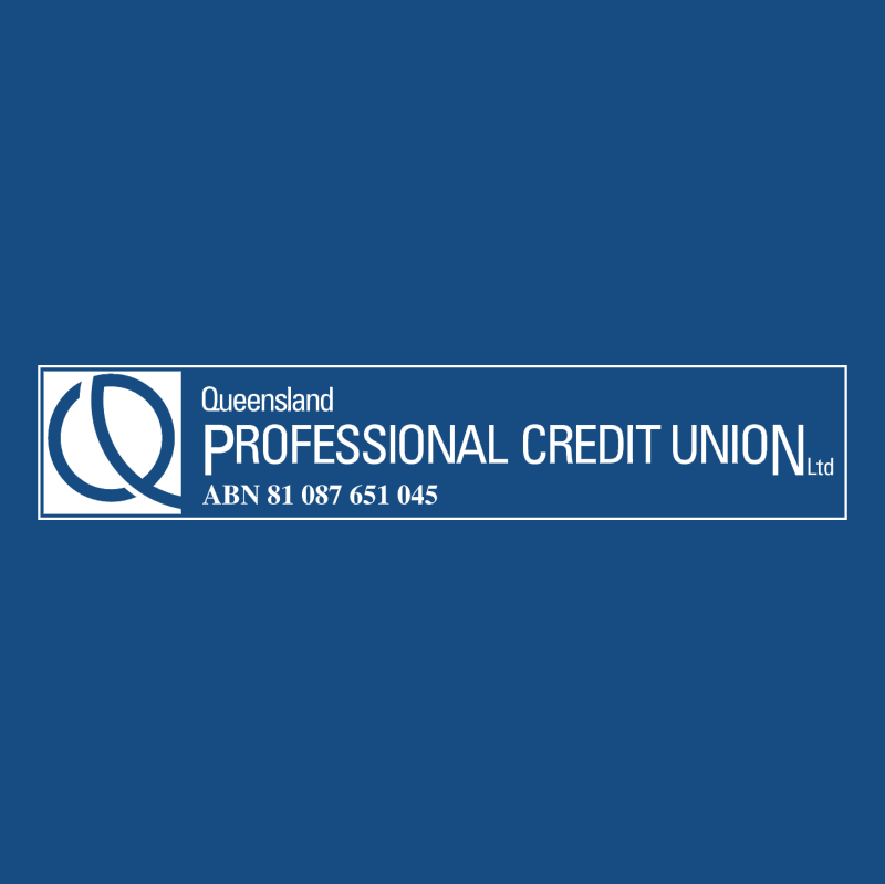 Queensland Professional Credit Union vector