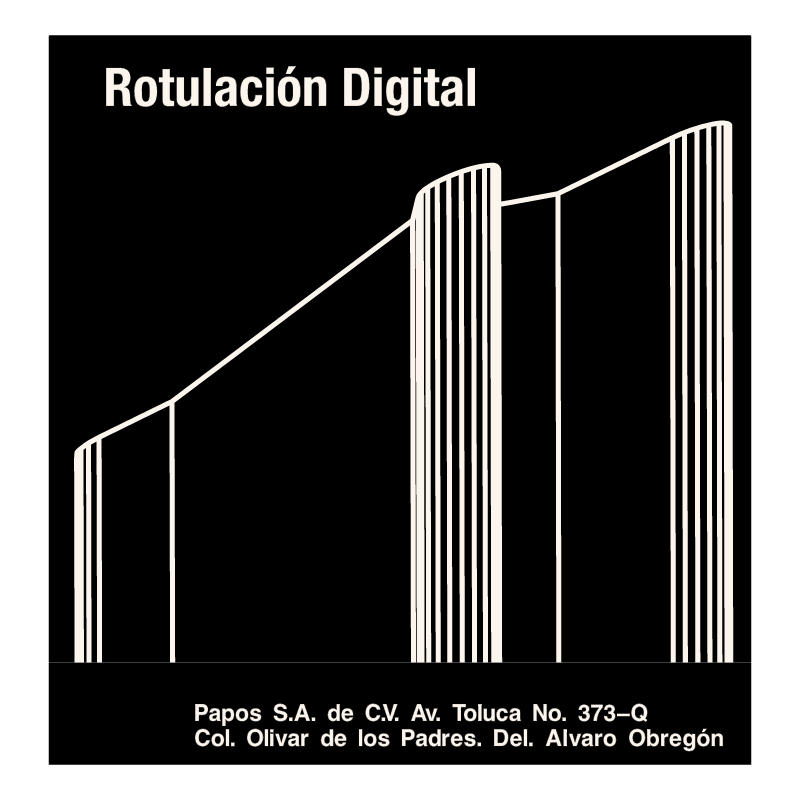 Rotulacion Digital vector