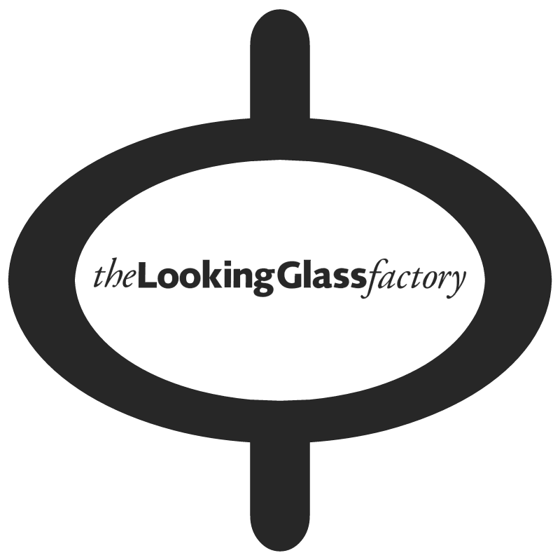 The Looking Glass Factory vector logo