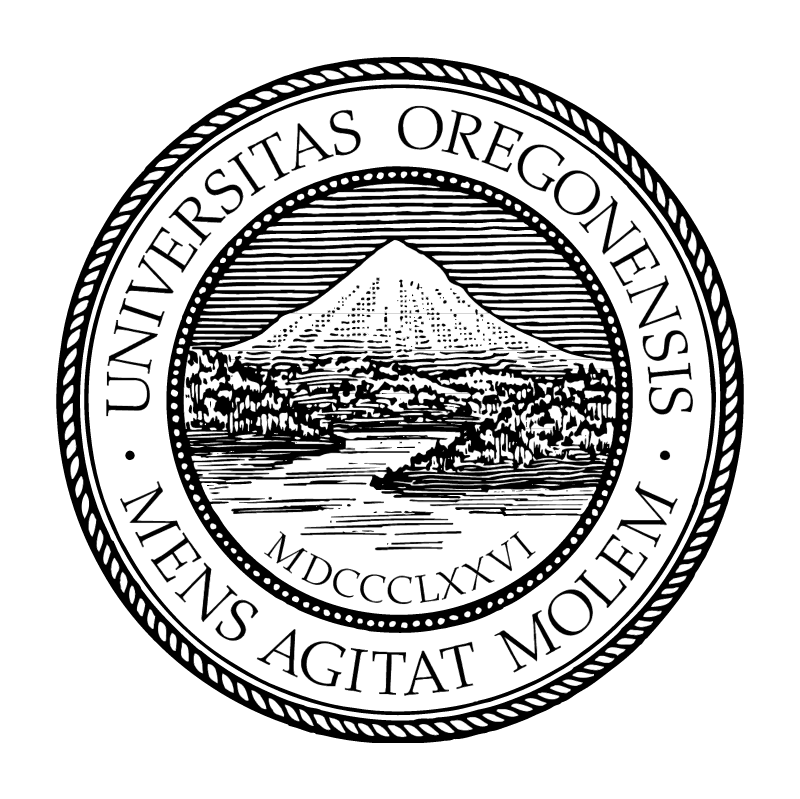 University of Oregon vector logo