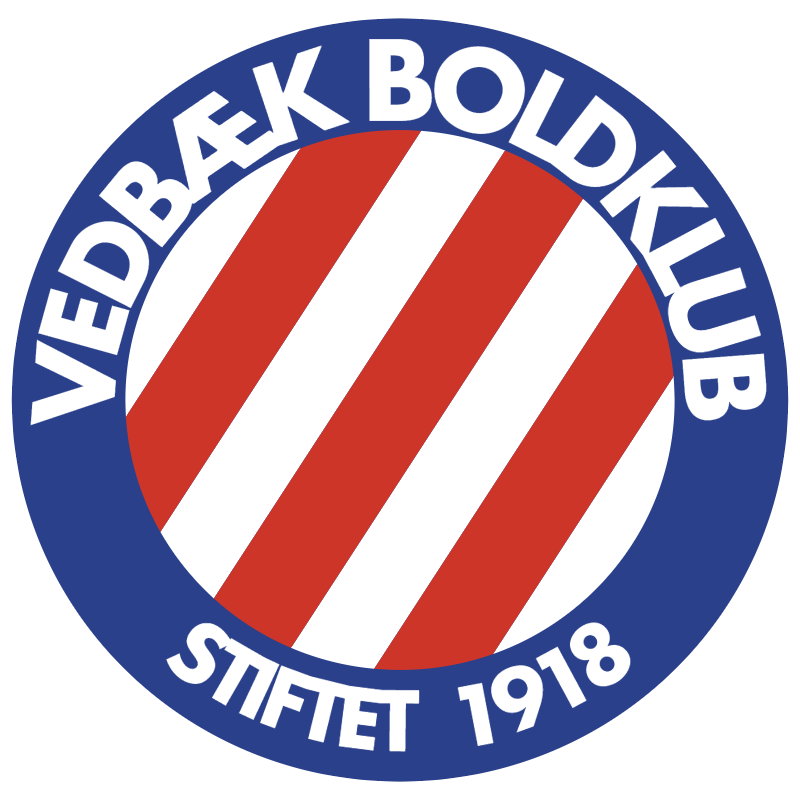 Vedbaek vector logo