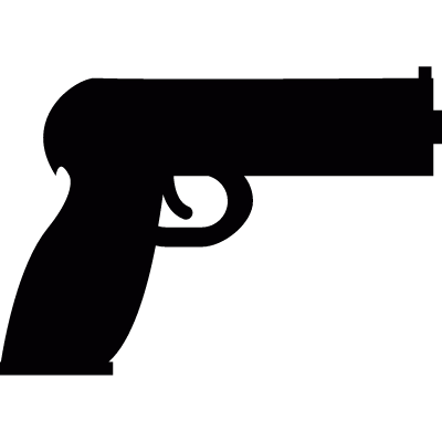 Firearm vector logo