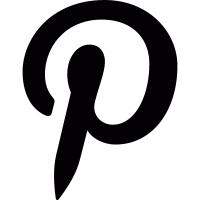 Pinterest logo vector