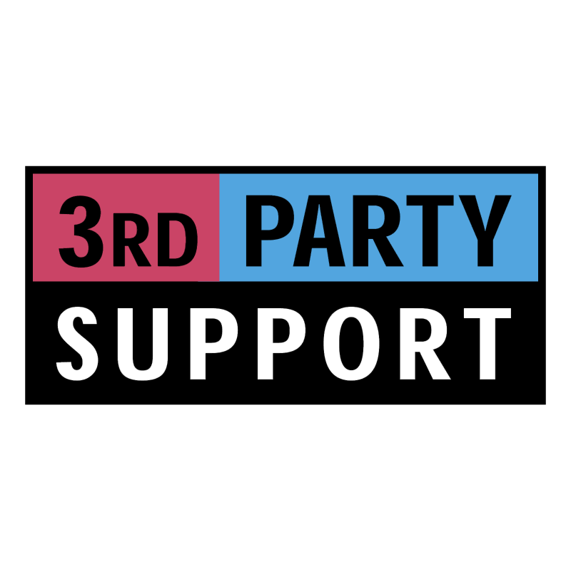 3rd Party Support vector logo