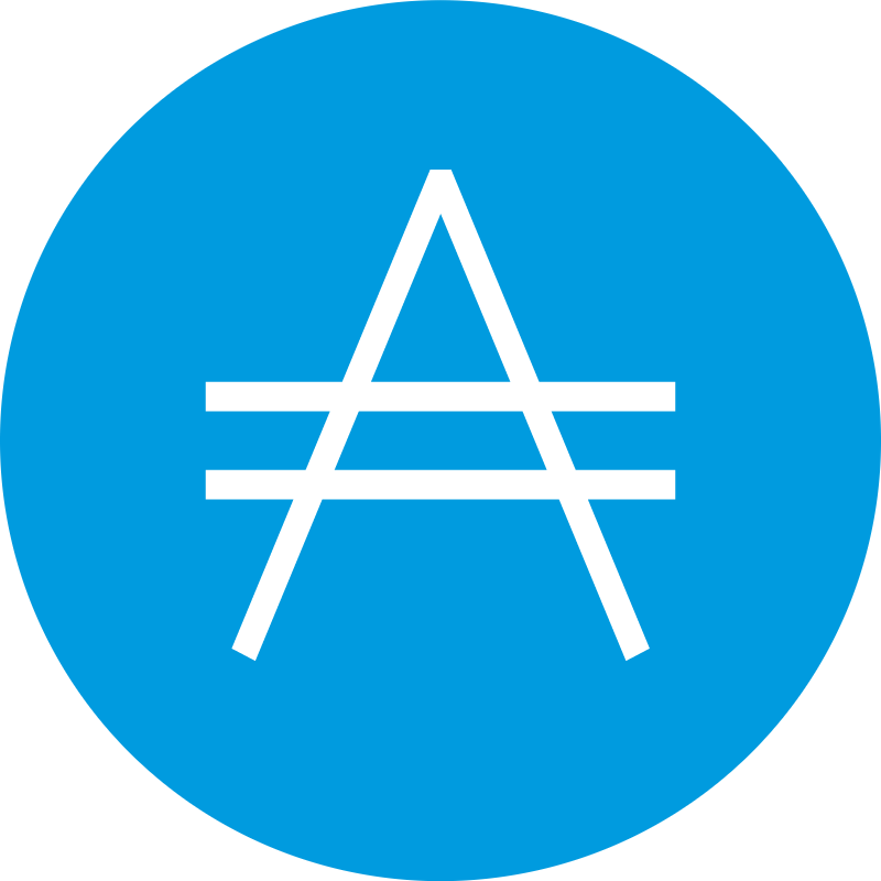 Aricoin icon vector