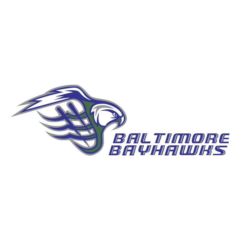 Baltimore Bayhawks 76382 vector