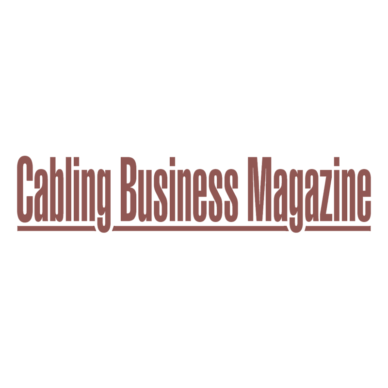 Cabling Business Magazine vector logo