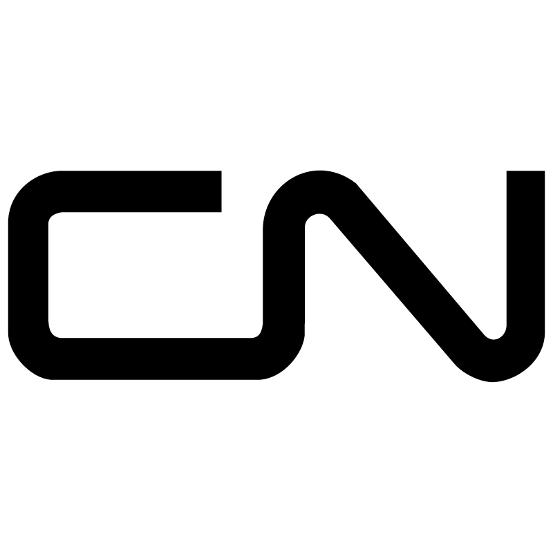 Canadian National Railway vector