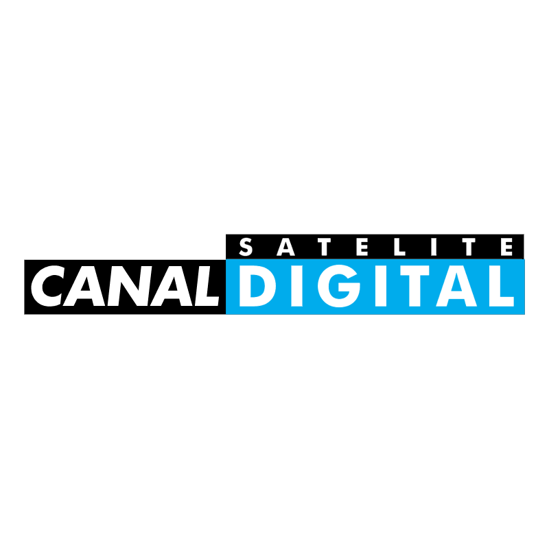 Canal Satelite Digital vector
