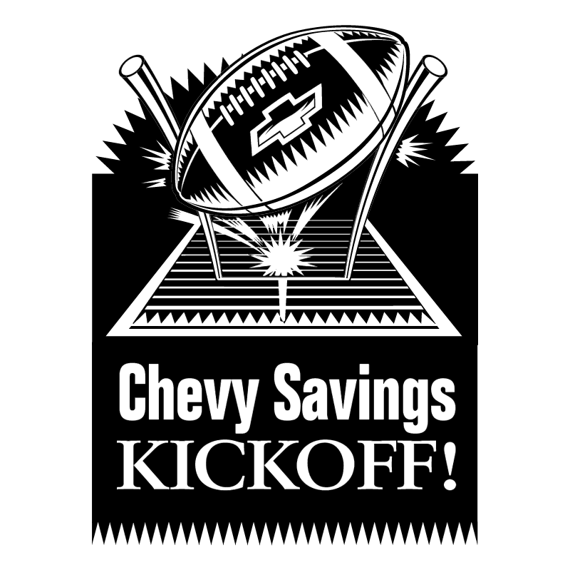 Chevy Savings Kickoff vector