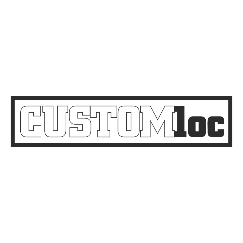 CustomLoc vector logo