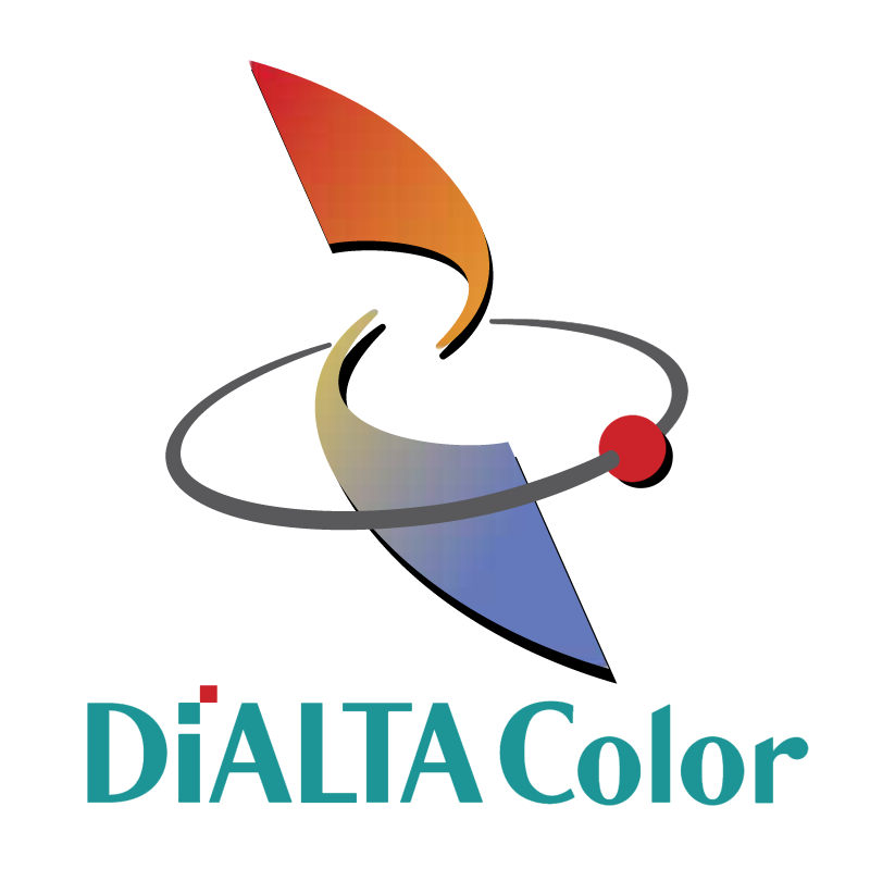 Dialta Color vector logo