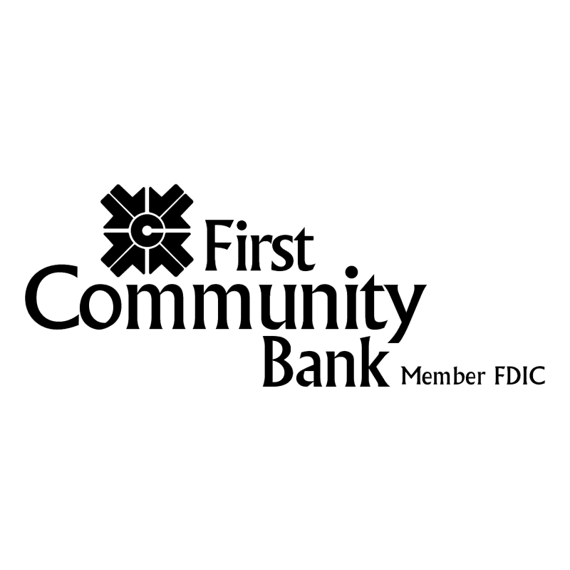 First Community Bank vector