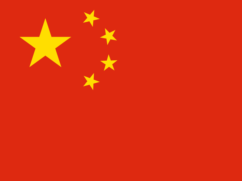 Flag of China vector logo