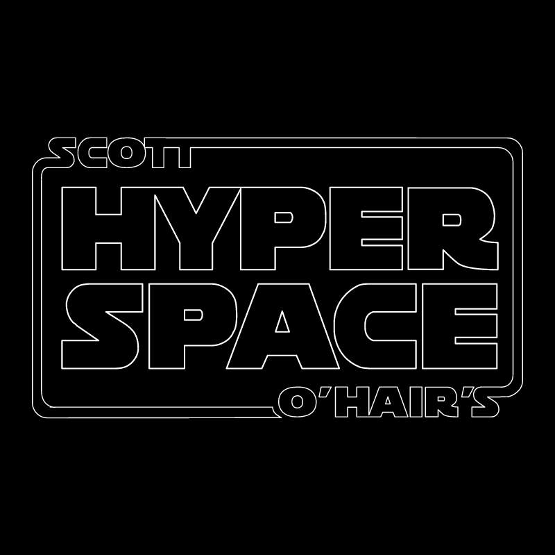 Hyper Space vector logo