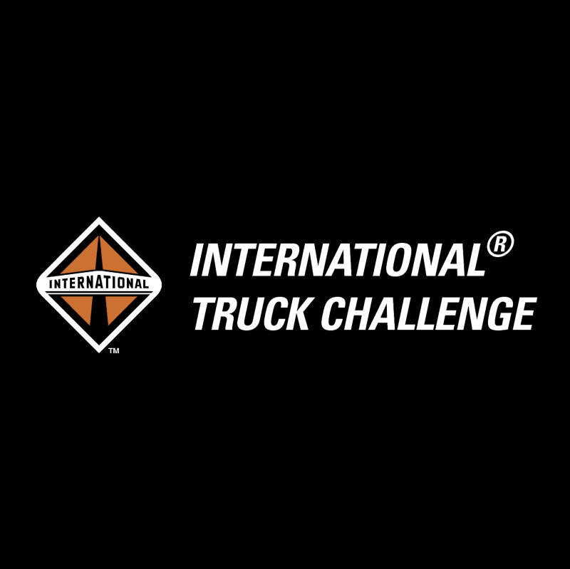 International Truck Challenge vector
