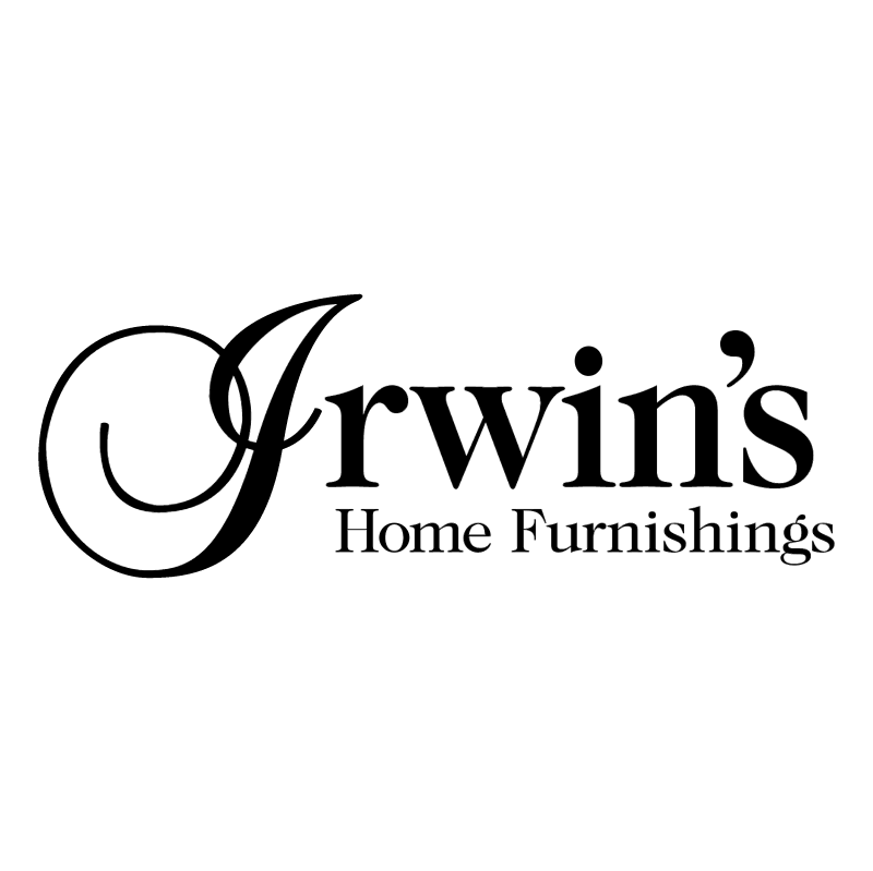 Irwin's Home Furnishings vector