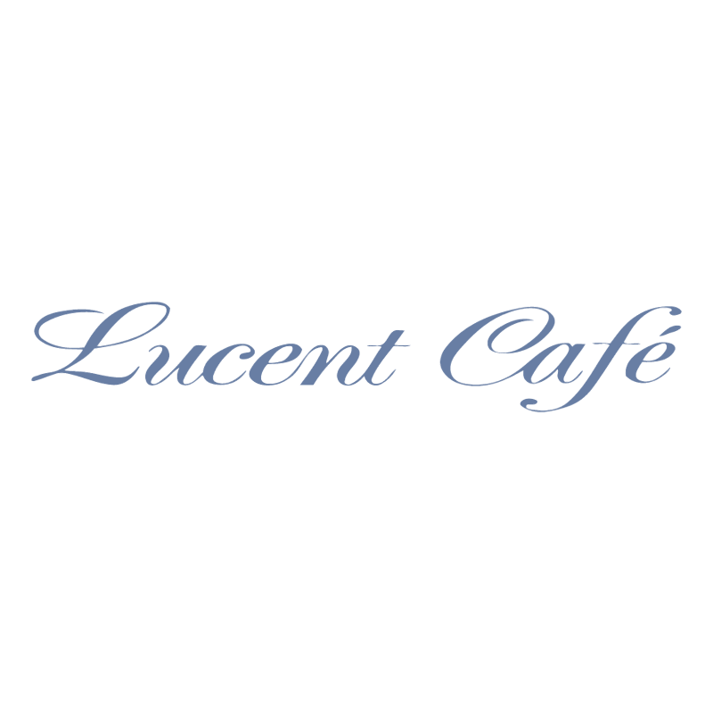 Lucent Cafe vector logo