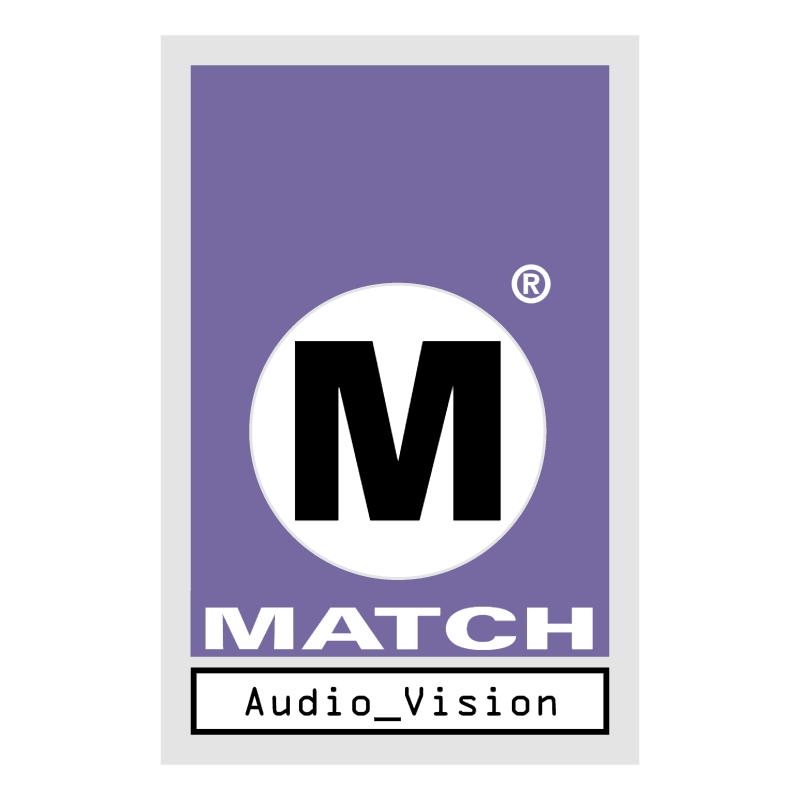 Match Audio & Video vector