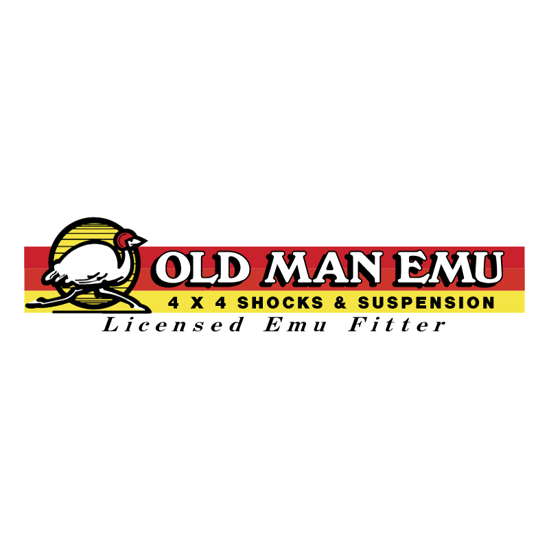 Old Man Emu Suspension vector logo