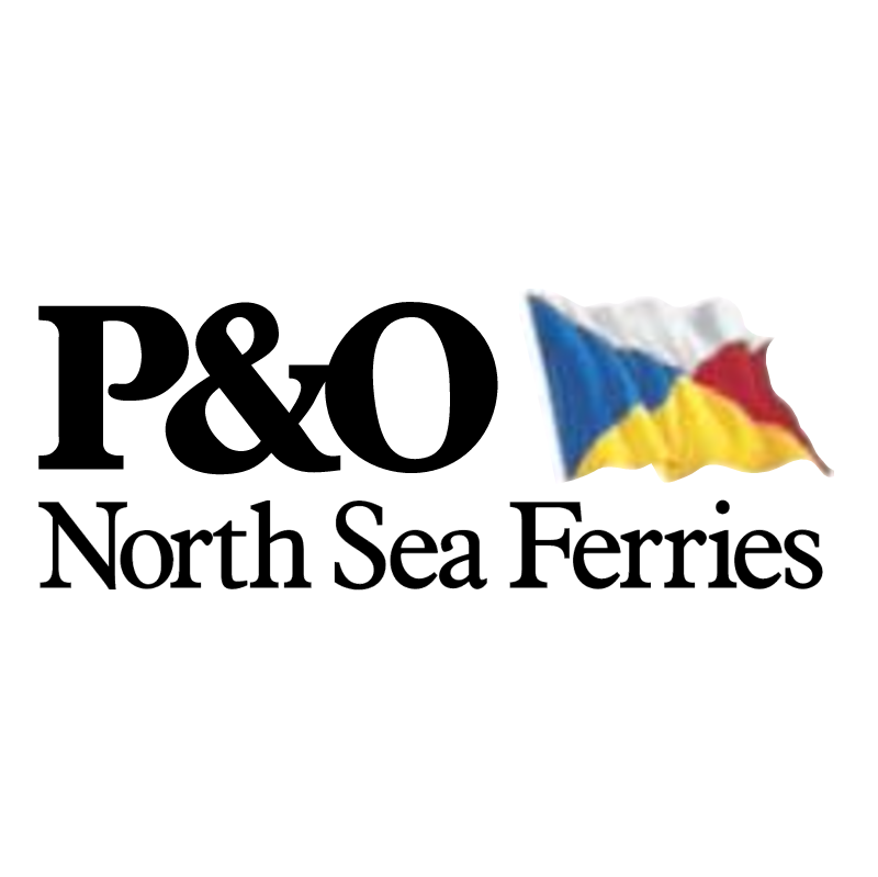 P&O North Sea Ferries vector