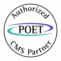 POET CMS Partner vector