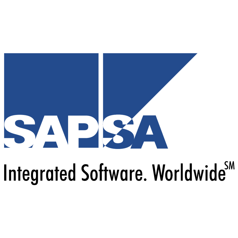 SAP SA Integrated Software vector logo