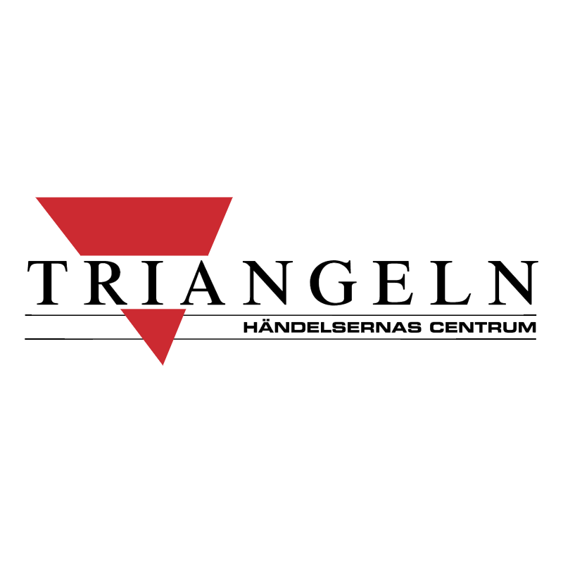 Triangeln vector logo