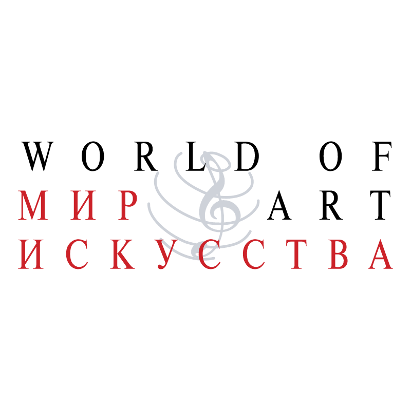 World Of Art vector logo