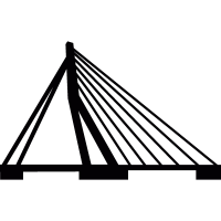 Erasmus Bridge vector