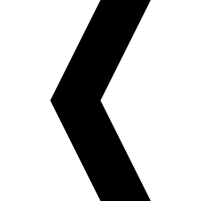 Arrow pointing to left vector logo