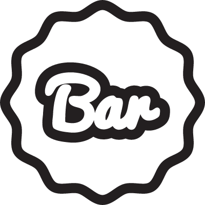 Bar Label vector logo