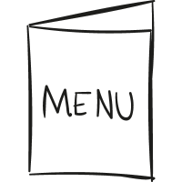 Open Menu vector