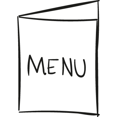 Open Menu vector logo
