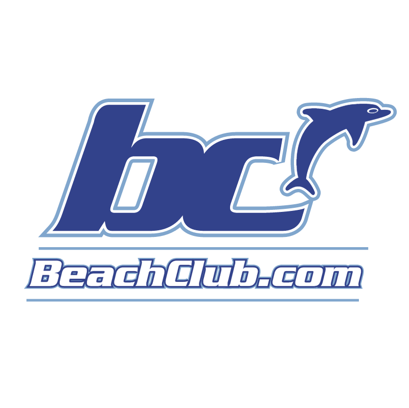 Beach Club vector logo