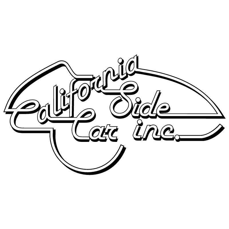 California Side Car vector