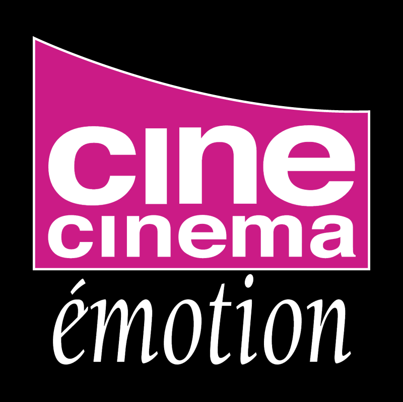 Cine Cinema Emotion vector