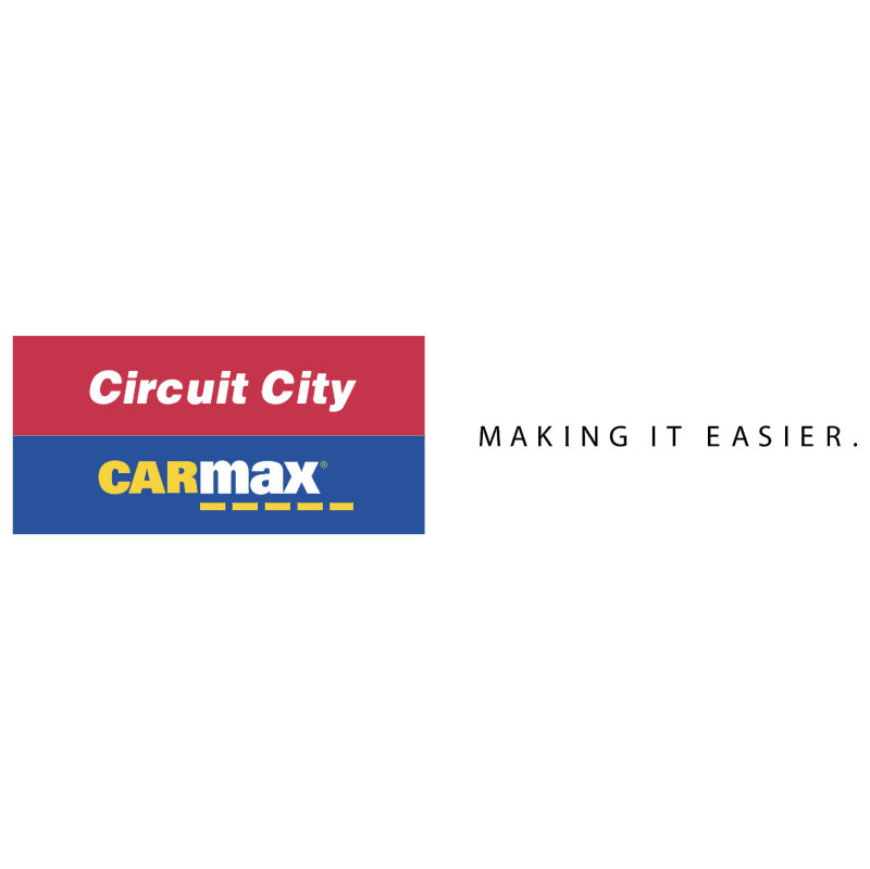 Circuit City CarMax vector