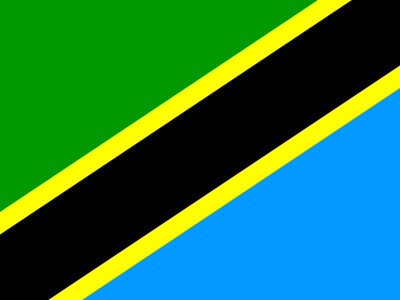 Flag of Tanzania vector logo