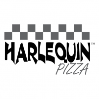Harle Quin Pizza vector
