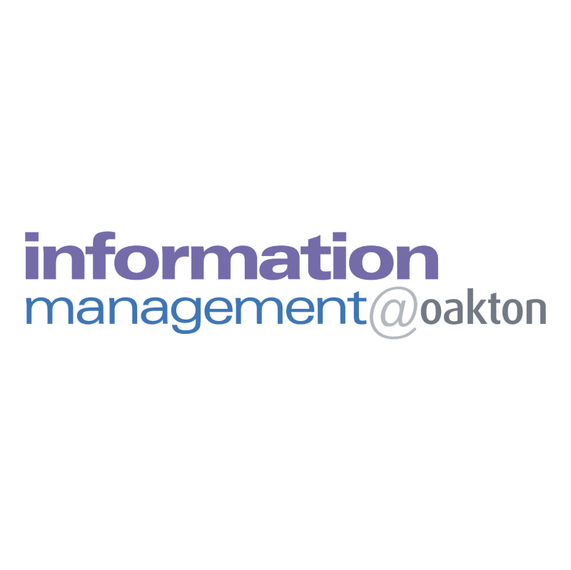 Information Management oakton vector logo