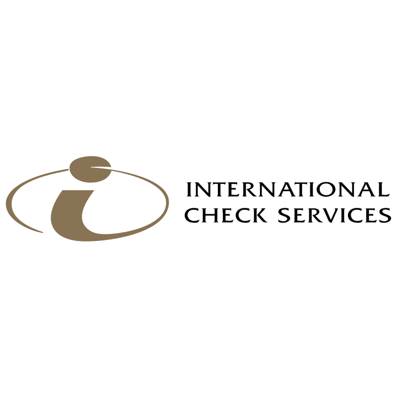 International Check Services vector