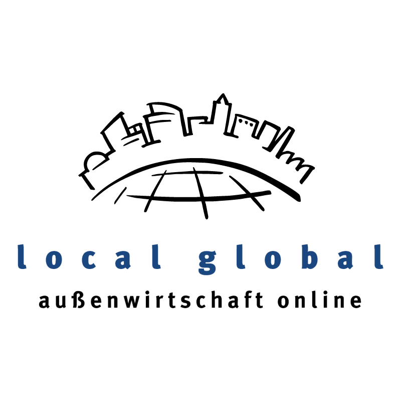 local global vector logo
